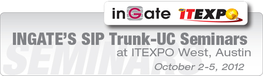 Ingate's SIP Trunk-UC Seminars